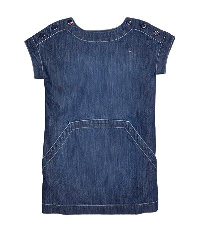 Tommy Hilfiger Adaptive Cincinnati Denim Dress with VELCRO(r) Closure at Shoulders (Toddler/Little Kids/Big Kids) (Cincinnati Wash) Women