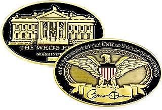 President Barack Obama White House Eagle Signed Challenge Coin