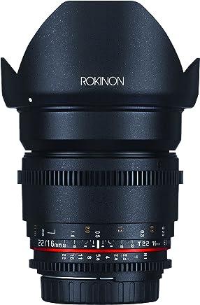 Rokinon DS16M-C 16mm T2.2 Cine Wide Angle Lens for Canon EF-S Digital SLR