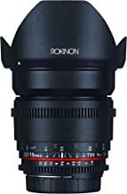 Rokinon DS16M-C 16mm T2.2 Cine Wide Angle Lens for Canon EF-S Digital SLR