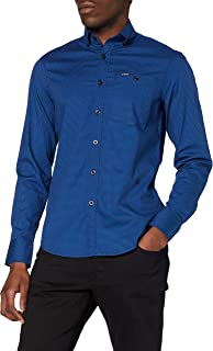 G-STAR RAW Core Btn Down 1pkt Slim Shirt Camisa para Hombre