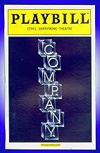 Company, Broadway playbill + Raul Esparza, Barbara Walsh, Matt Castle, Heather Laws