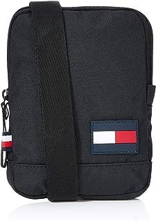Tommy Hilfiger Men's Core Compact Crossover Bag, Black