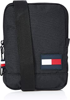 Tommy Hilfiger Men's Core Compact Crossover Bag, Black