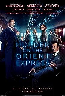 Murder on the Orient Express Movie Poster Limited Print Photo Johnny Depp Michelle Pfeiffer Penélope Cruz Size 8x10 #1