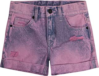 Levi's Little Girl's Girlfriend Fit Shorty Shorts Shorts