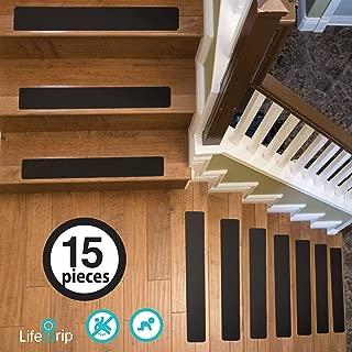 LifeGrip EVA Fine Resilient Anti Slip Stair Treads (4
