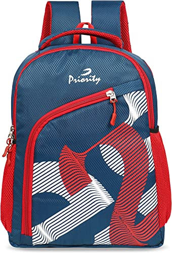 Cherry 0010 35 Litres Blue Polyester College Bag Casual Backpack For Boy S Girl S 25198