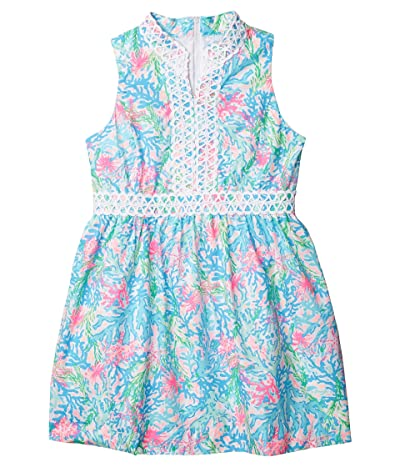 Lilly Pulitzer Kids Mini Franci Dress (Toddler/Little Kids/Big Kids) (Multi Coral Bay Small) Girl