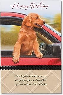American Greetings Birthday Card (Simple Pleasures)