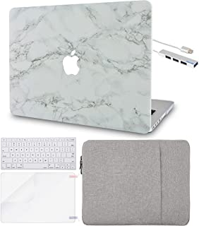 """LuvCase 5in1 Laptop Case For MacBook Air 13"""" (2021/2020) A2337 M1/A2179 Retina Display (Touch ID) Hard Shell Cover, Sleeve..."""