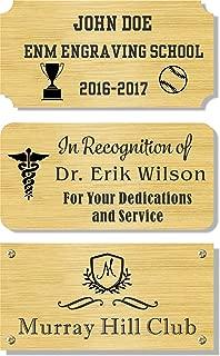 Best brass plaques outdoor Reviews