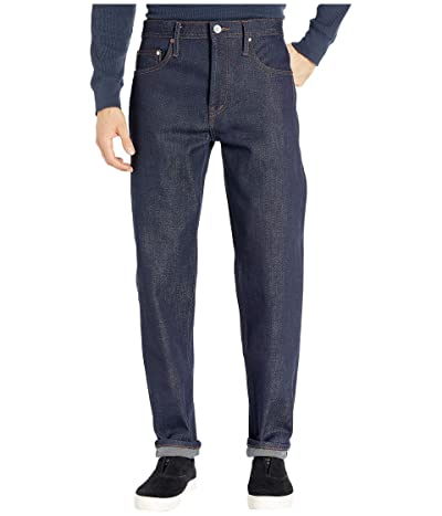 The Unbranded Brand Relax Tapered Fit 21 oz Heavyweight Indigo Selvedge (Indigo) Men