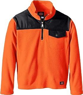 Dickies Boys' Quarter Zip Performance Fleece Jacket