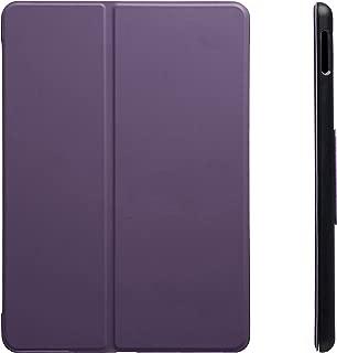 "AmazonBasics iPad 2017 Smart Case Auto Wake/Sleep Cover, Purple, 9.7"""