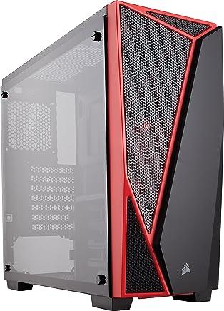 Corsair Carbide SPEC-04 Case da Gaming, Mid-Tower ATX, Finestra Laterale Vetro Temperato, Nero/Rosso - Trova i prezzi più bassi