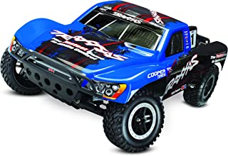 Traxxas 58076-24 Slash Vxl 2WD 1/10 Brushless Short Course Truck with Tqi 2.4GHz Radio, Oba, and TSM, Blue