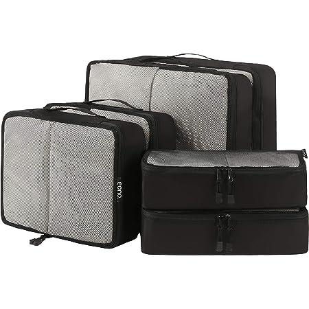Amazon Basics Kleidertaschen Set 4 Teilig 2 Mittelgroße Und 2 Große Kleidertaschen Blau Koffer Rucksäcke Taschen