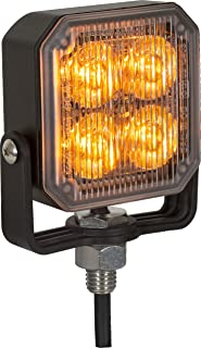 Buyers Products 8891800 Amber 4 LED Strobe Light (2.85in)