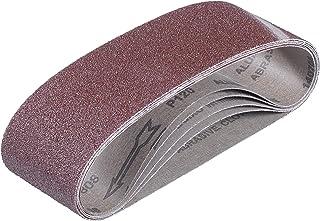 Youyijia 20 Pcs 4x Grain Bande Abrasive 75 x 533mm pour Ponceuses /à Bande
