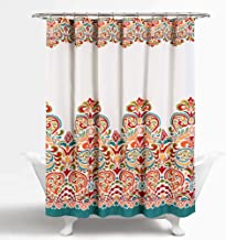 Best bright coral shower curtain Reviews