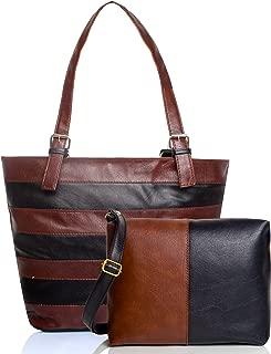 Mammon Women Hand Shoulder Bag and Sling Bag Combo (Multicolour)