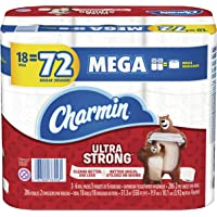 3-Pack Charmin Ultra Strong Toilet Paper 18 Mega Rolls + $15 Gift Card