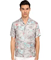 Marc Jacobs - Mellow Meadow Silk Classic Short Sleeve Button Up