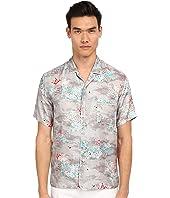Marc Jacobs - Mellow Meadow Silk Classic Short Sleeve Button Up