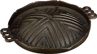 トキワ 鉄製 ジンギスカン鍋(穴無)26cm 丸型 CR-17
