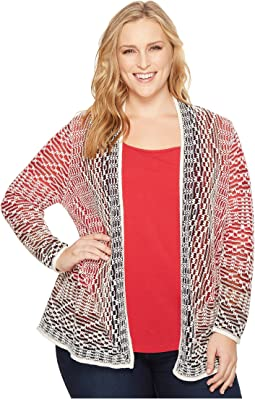 Plus Size Fireside Cardy