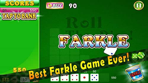 『Farkle Blitz Pro HD – 10000 Dice Addict with Friends Buddies App』の3枚目の画像