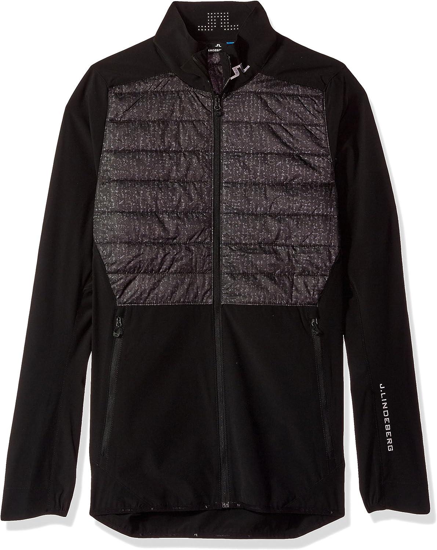 J.Lindeberg Mens Insulated Hybrid Jacket Insulated Jacket