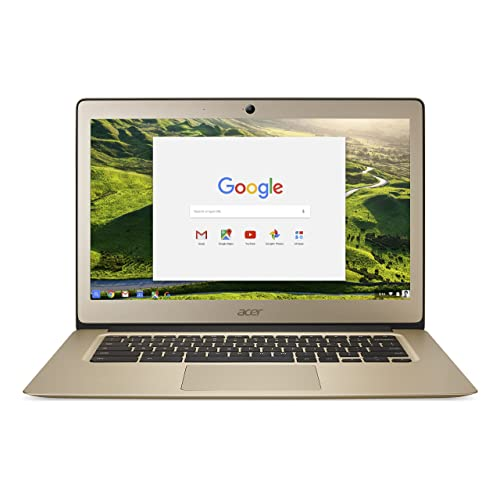 Acer Chromebook 14, Aluminum, 14-inch Full HD, Intel Celeron N3160,