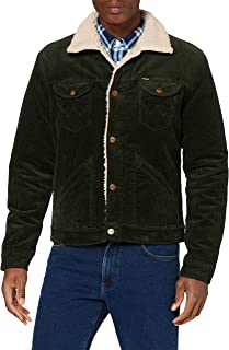 Wrangler Icons Sherpa Giacca in Jeans Uomo