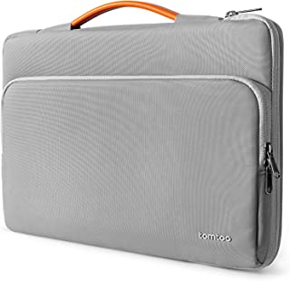 tomtoc 15,6-inch gerecyclede laptoptas voor 15,6-inch Lenovo IdeaPad, notebook-ultrabook, HP Pavilion x360, Dell Inspiron ...
