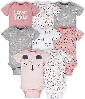 Best Gerber Baby 8-Pack Short Sleeve Onesies Bodysuits Reviews