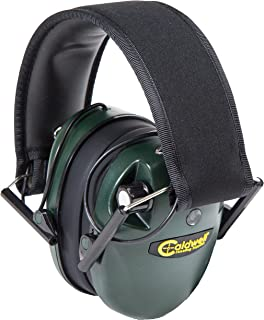 Caldwell E-Max Low Profile Electronic Hearing Protection with Sound Amplification 21-25 NRR - Adjustable Earmuffs for Shoo...