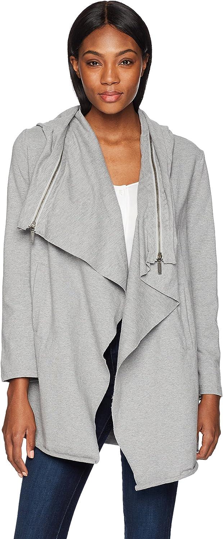Neon Buddha Women's Zip Off Hooded Jacket 8488, Sporty Grey, M