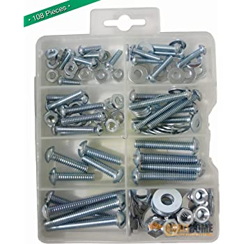 10pcs 1//4-20 Hand Tighten Wing Nuts 10pcs 1//4-20 x 2-1//2 Phillips Head Screw Bolt RuiLing 10 Sets Screw Bolts with Wing Nut Kit Zinc Plated Carbon Steel Mounting Hardware Fitting Fastenings