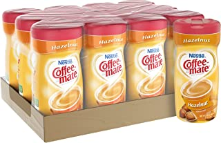 NESTLE COFFEE-MATE Coffee Creamer, Hazelnut 15oz powder creamer, Pack of 12