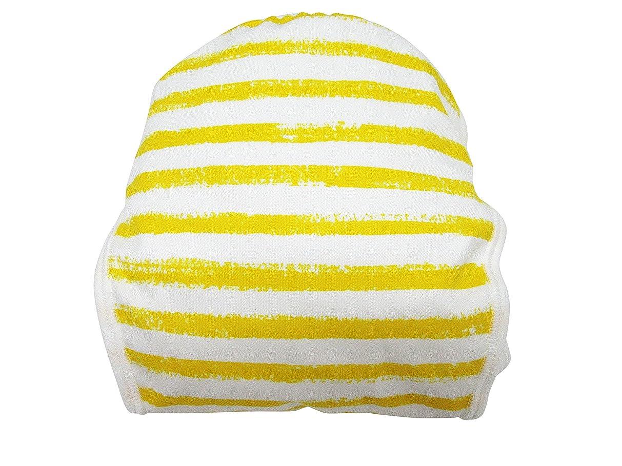 パスケーブル予防接種するジェフ 手書ボーダー 内オムツカバー 黄 95cm