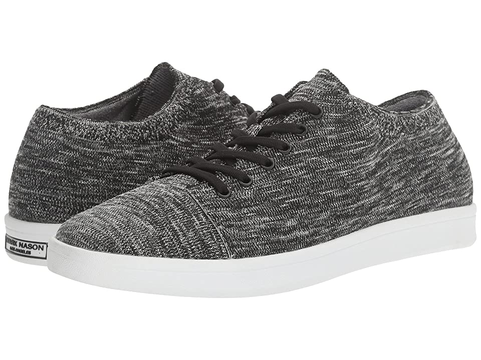 Mark Nason Loland (Black/Gray Flat Knit) Men