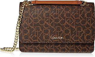 Calvin Klein unisex-adult Hayden Signature Chain Demi Shoulder Bag Hayden Signature Chain Demi Shoulder Bag