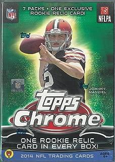 Chrome 2014 Topps NFL Trading Cards Blaster Box