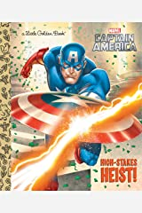 High-Stakes Heist! (Marvel: Captain America) (Little Golden Book) Kindle Edition