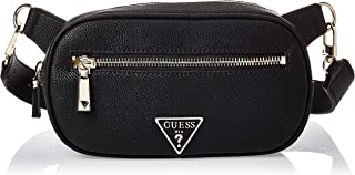 Guess Womens Money Belt, Black - VG766580
