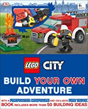 LEGO City: Build Your Own Adventure: With a Firefighter Minifigure and Exclusive Fire Truck (LEGO Build Your Own Adventure)