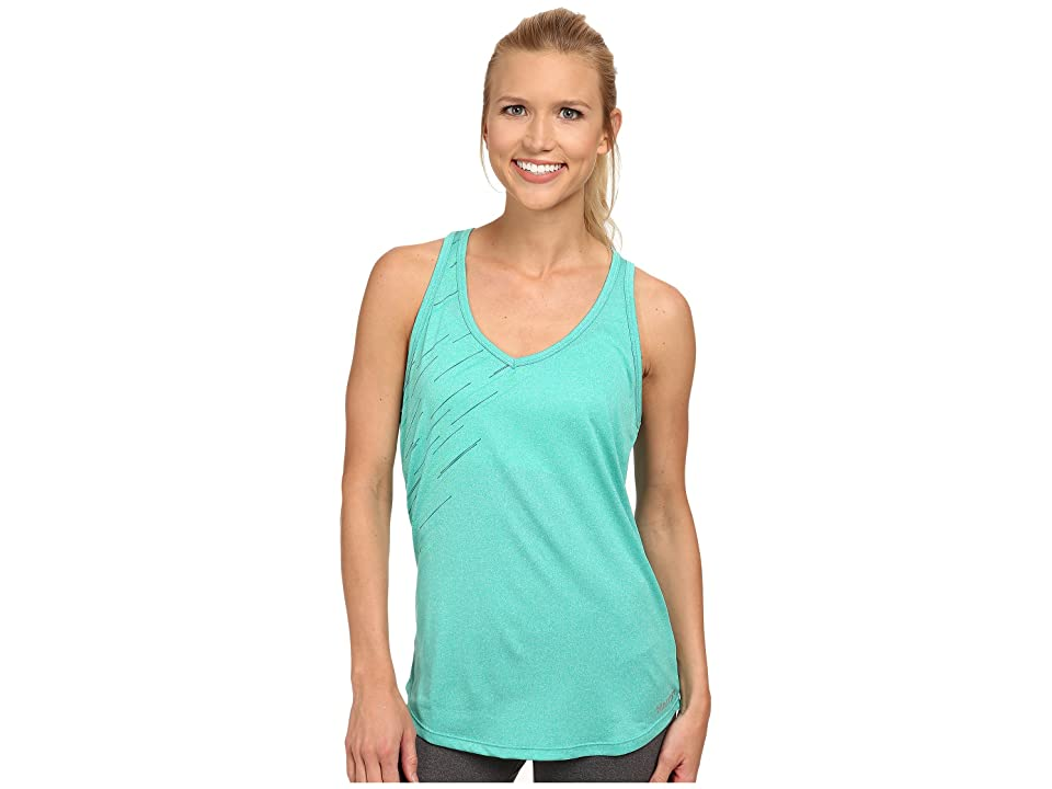 Marmot Layer Up Tank (Gem Green Heather) Women