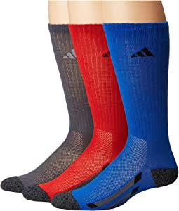 adidas Kids Vertical Stripe Crew 6-Pack (Toddler/Little Kid/Big Kid/Adult)